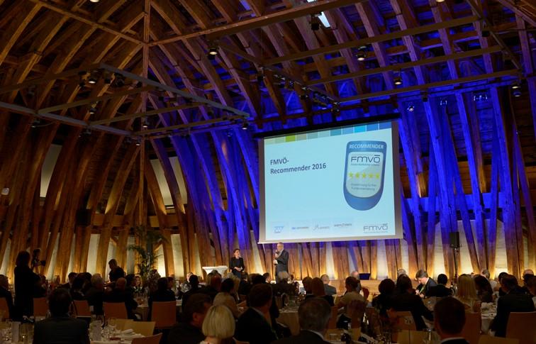 Banken und Versicherer beim Recommender Award 2016