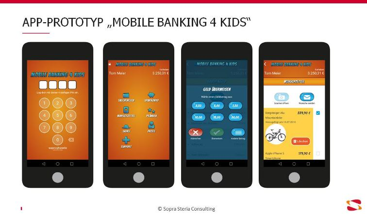 Mobile Banking 4 Kids Protoyp