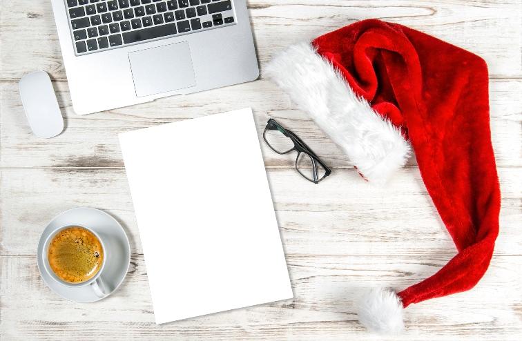 Digital selbstgemachte Weihnachten