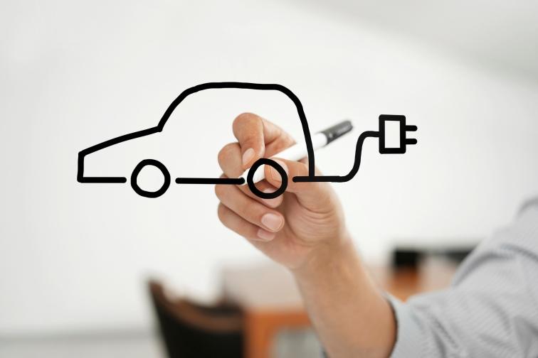 Automobilbranche - E-Auto