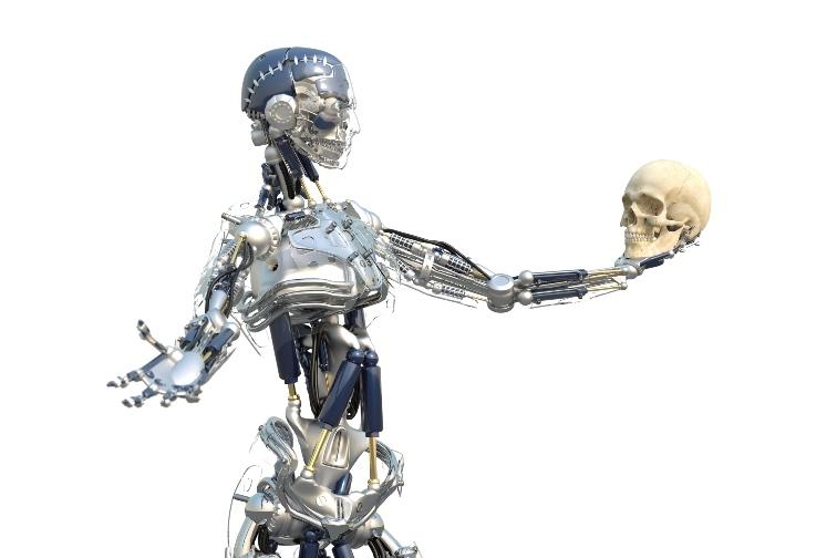 Künstliche Intelligenz - Roboter als Hamlet