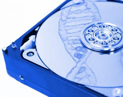 DNA als Festplatte