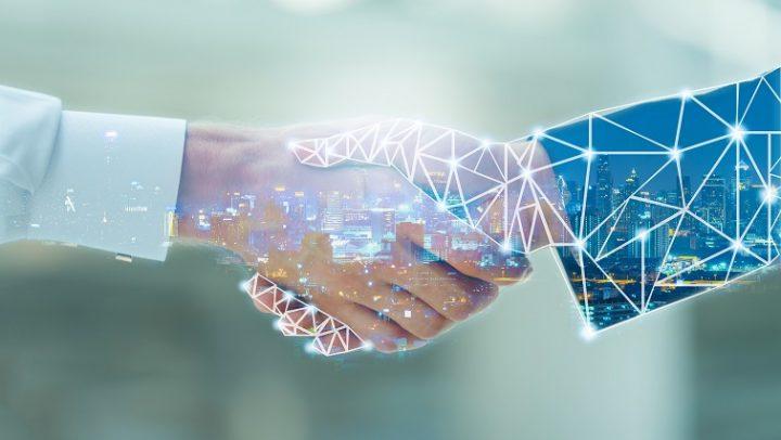 Ein digitaler Handschlag