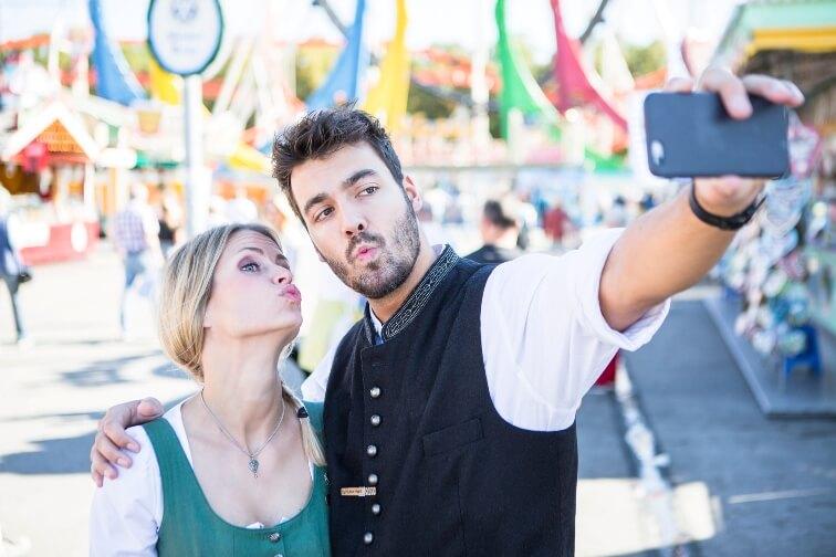 Oktoberfest – das wahrscheinlich digitalste Volksfest der Welt