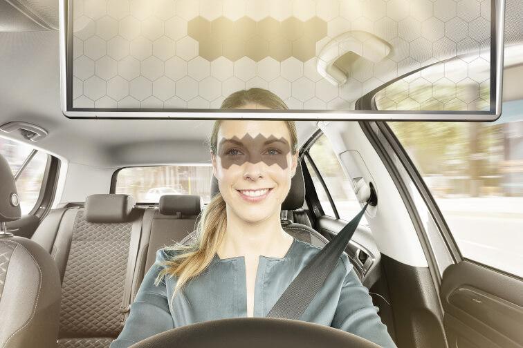 Bosch Virtuelle Sonnenblende Digitale Veredelung